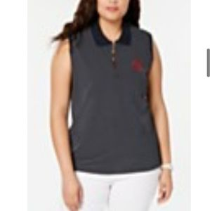 Women Tom Hilfiger Skycap Sleeveless Polo 1X